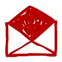 Website Email Red-128x128